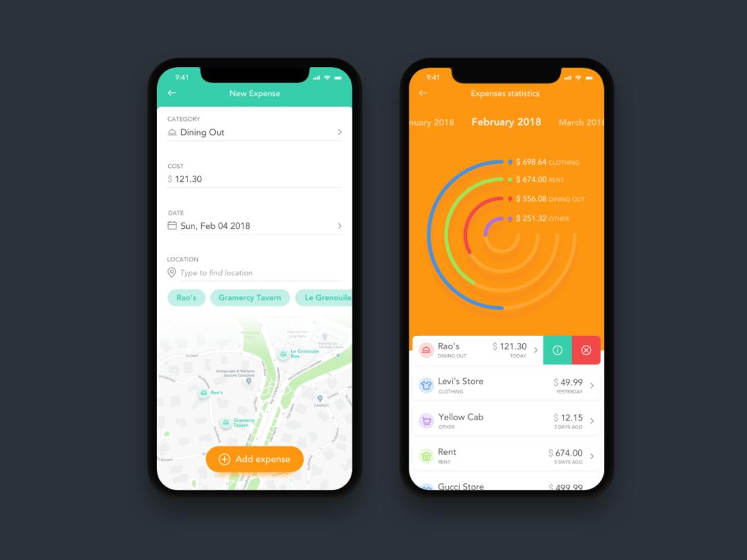 Walllet App Concept