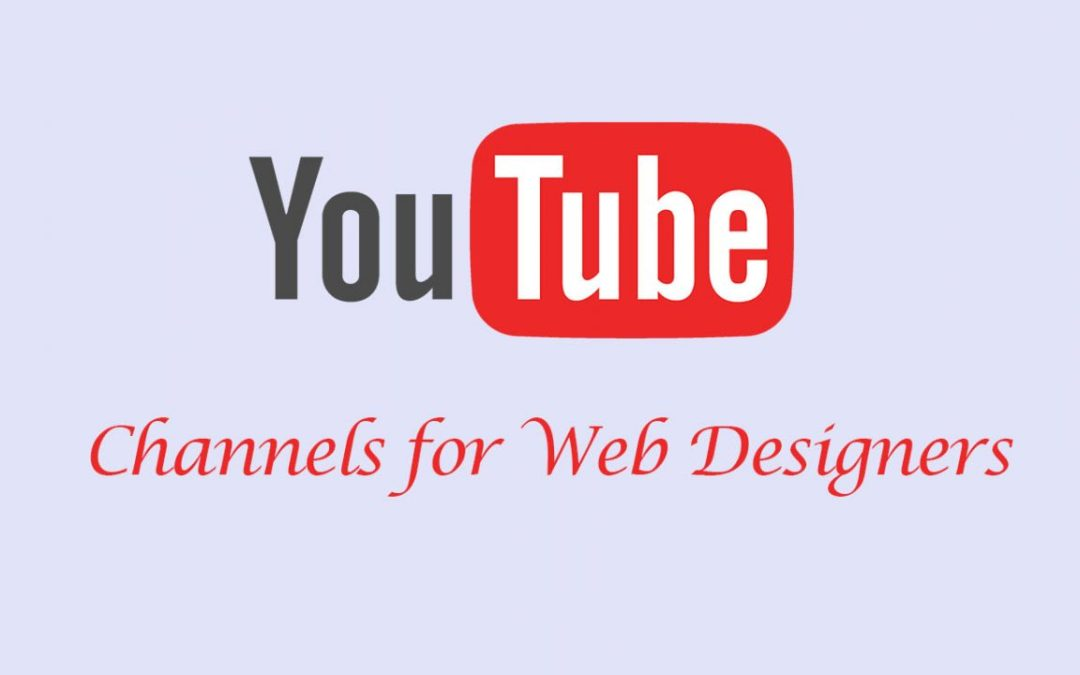 YouTube Channels for Web Designers
