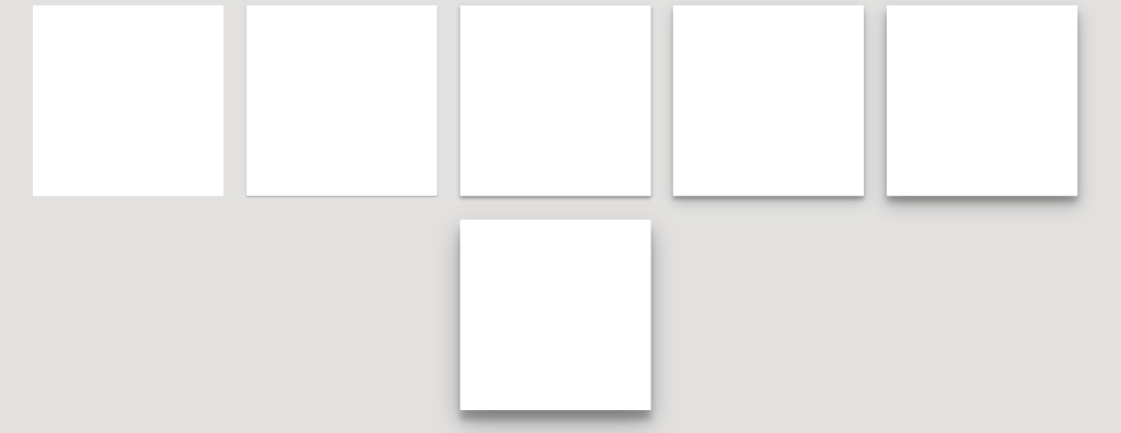Material Design Box Shadows