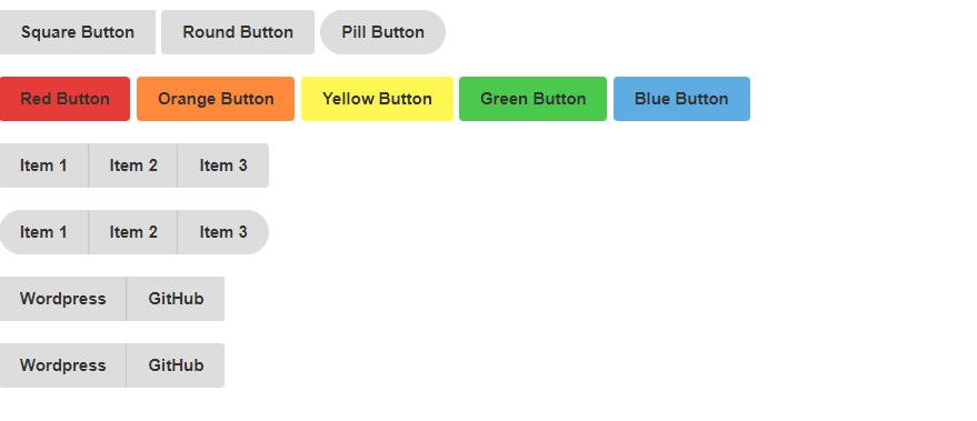 Generic CSS Button Kit