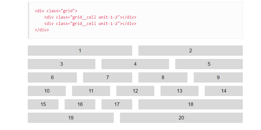 Griddle -CSS Grid System