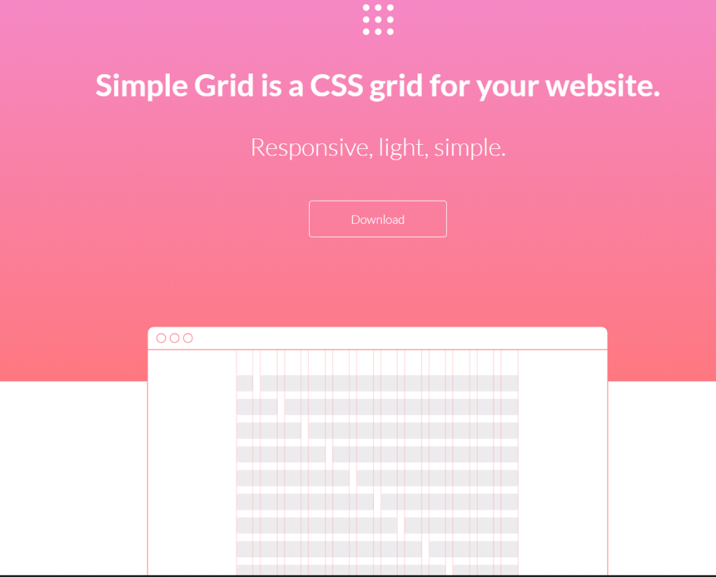 Simple Grid-CSS Grid System