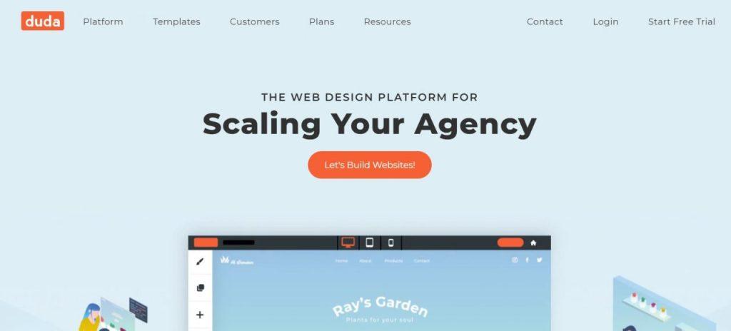 Duda - Web Design Platform