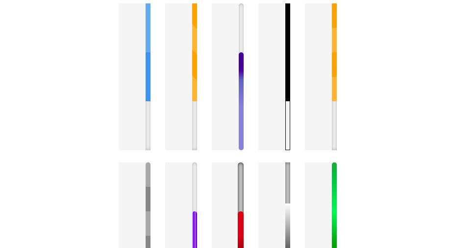 CSS Scrollbars