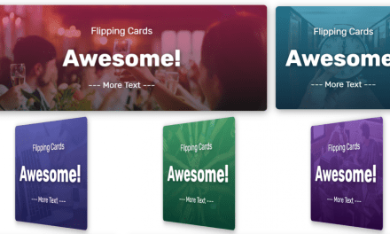 Flip Cards Code Snippet For Web Designer