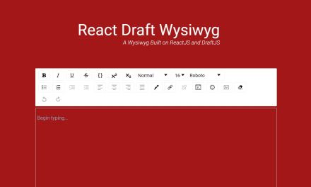 20+ React Wysiwyg Rich Text Editor
