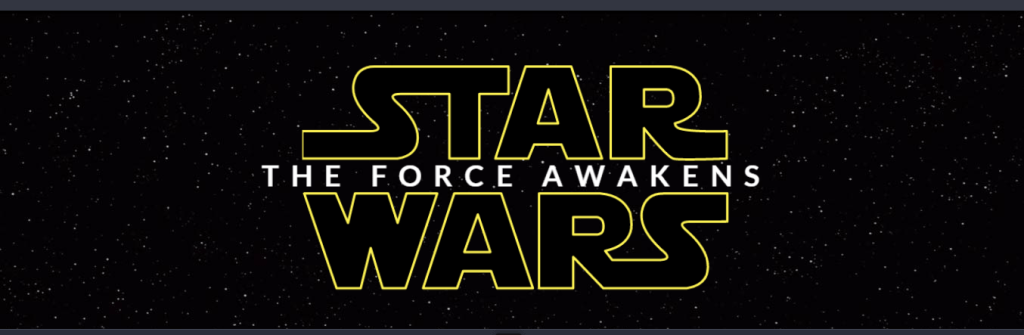 Star wars: the force awakens intro animation