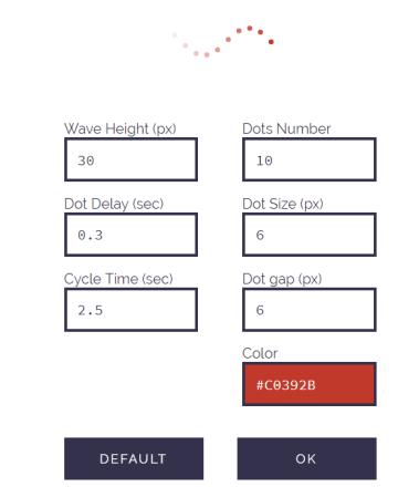 html Wave Generator