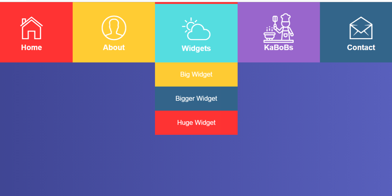 Dropdown Menu CSS Examples for Incredible Web Results