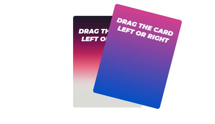 React Card Swipe