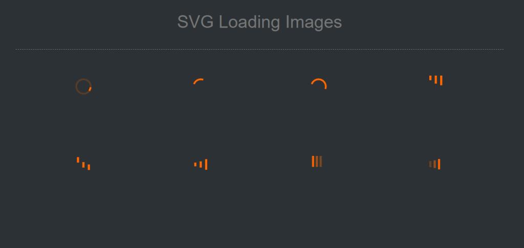SVG Loading icons Loading Image GIF