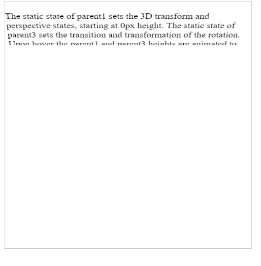 CSS Folding Animation