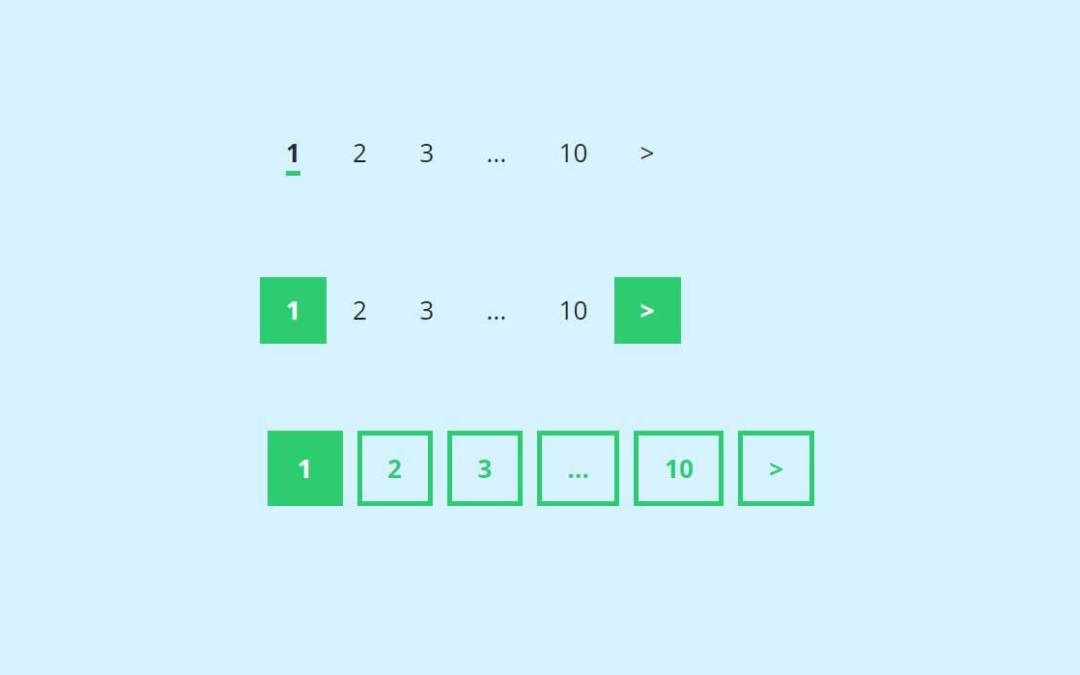 React pagination examples