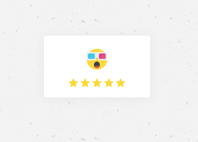 Simple star rating