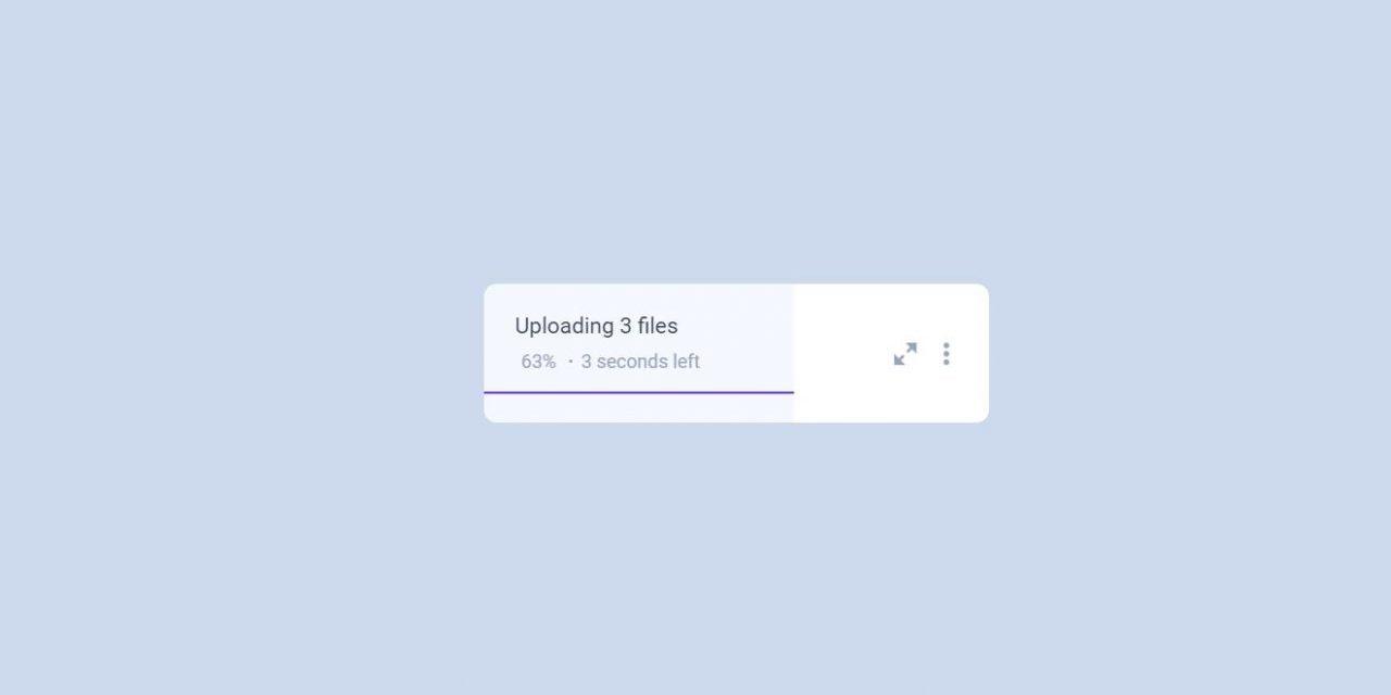 Animated CSS Upload Progress Bar Code Snippet