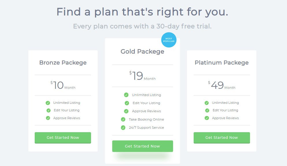 3d effect price plan table examples in bootstrap css