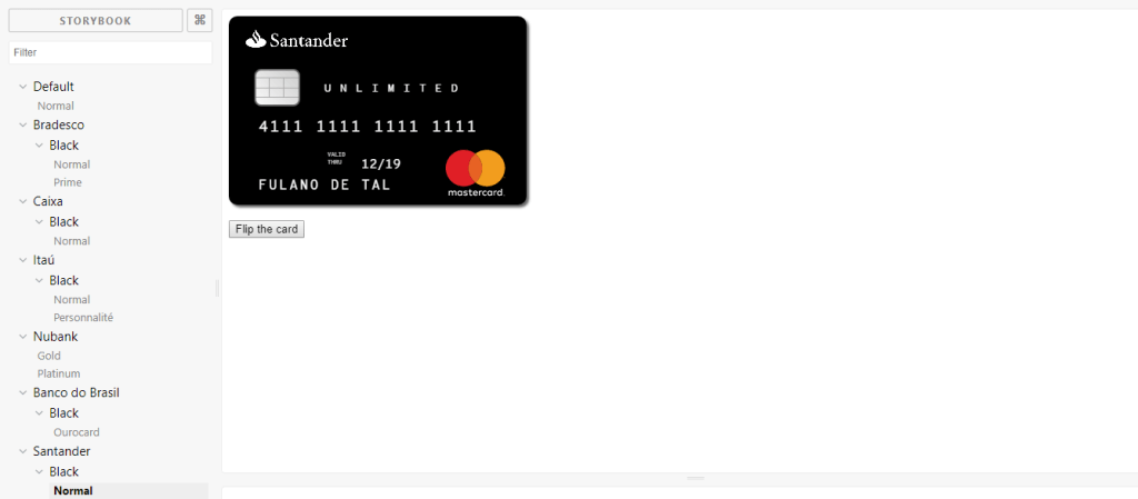 React Payment components
