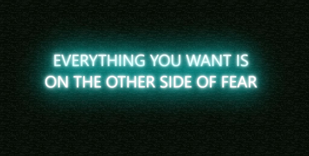 Neon Text Effect CSS Border Glow
