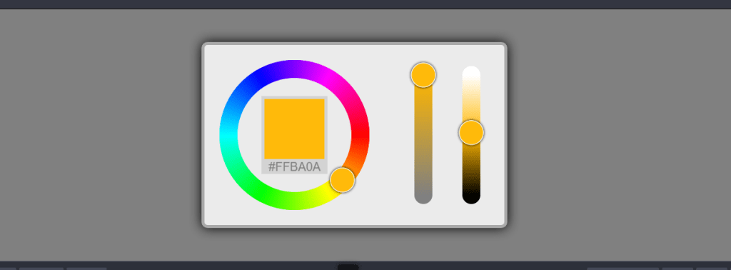 full control react color picker