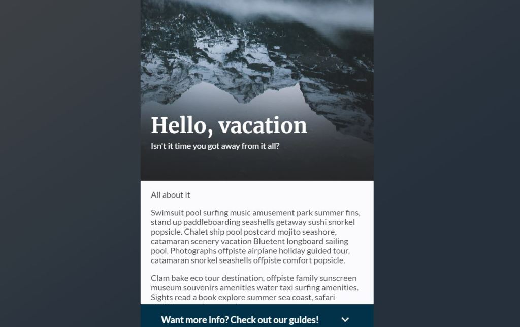 bootstrap/css fixed sticky footer bottom examples