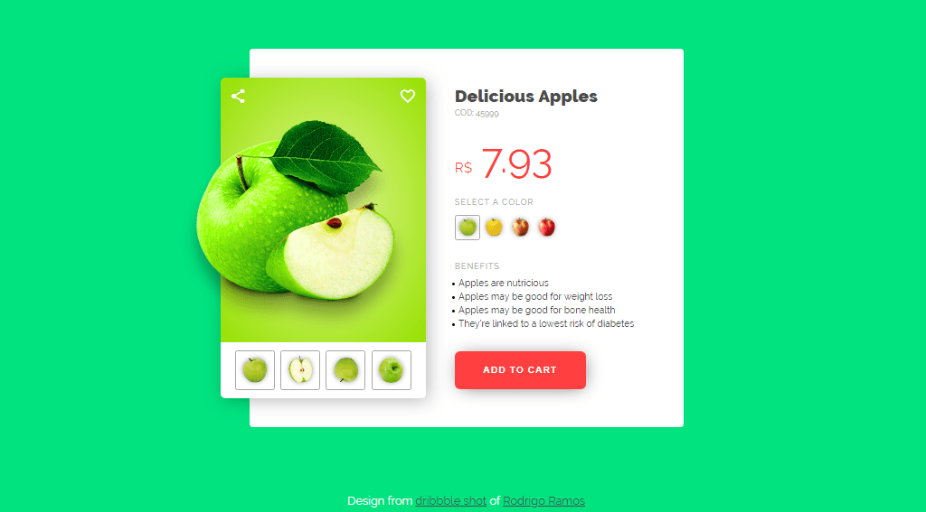 20+ Cool Product Card CSS Design Examples
