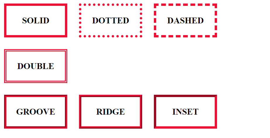 multiple css border types
