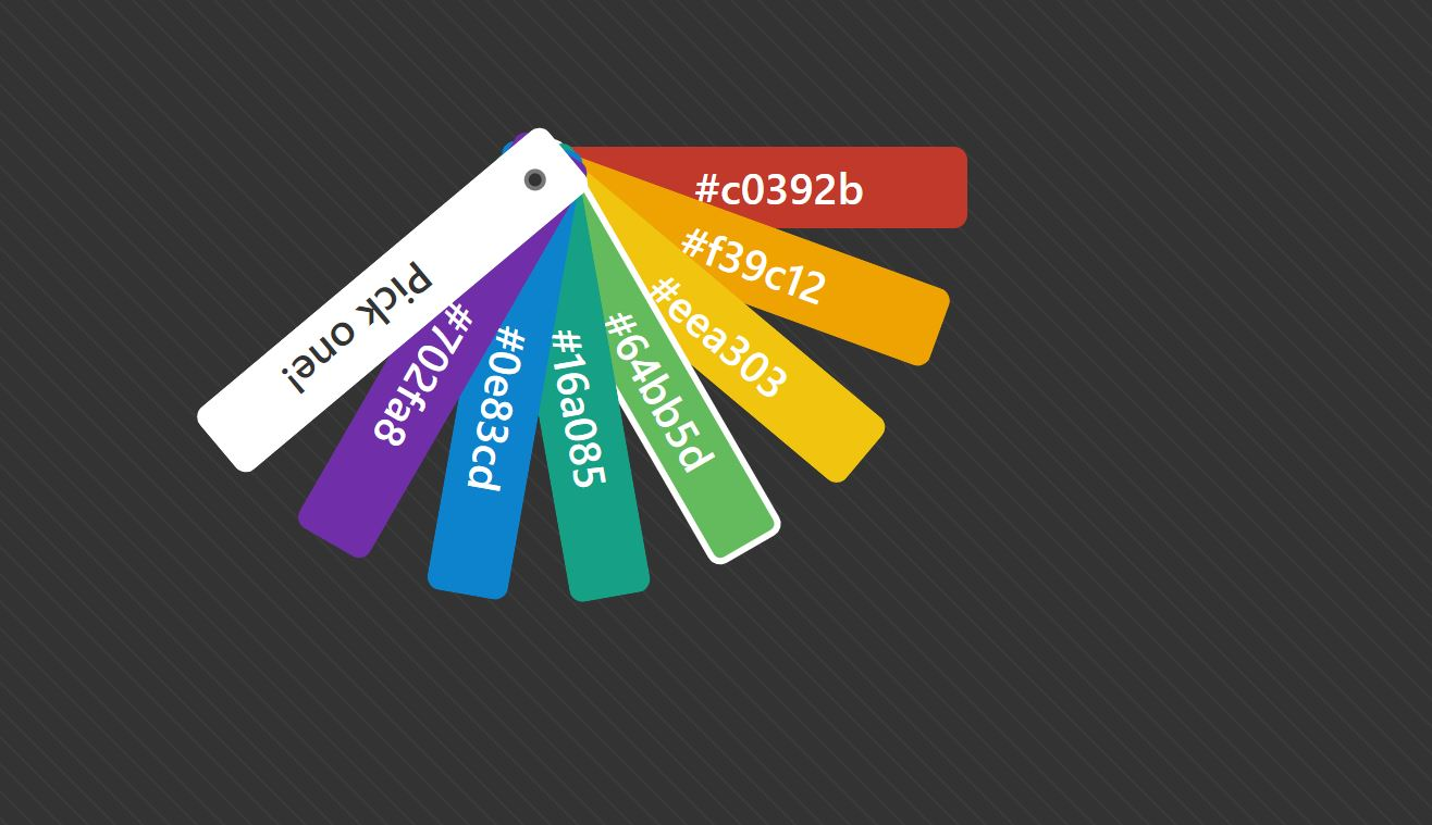20+ Best HTML CSS Color Palette with Code Snippet - OnAirCode