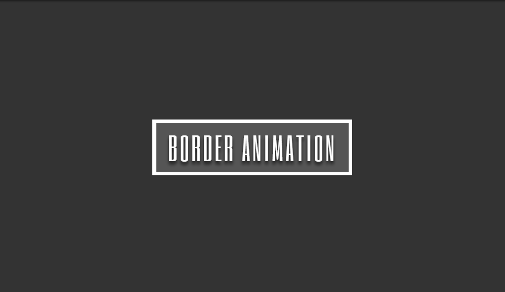 animation border on hover
