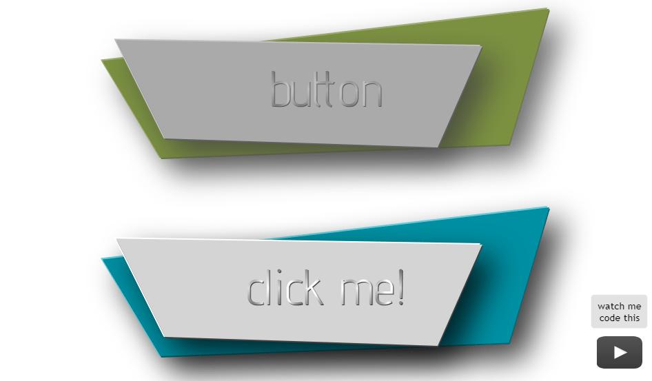 large 3d buttons