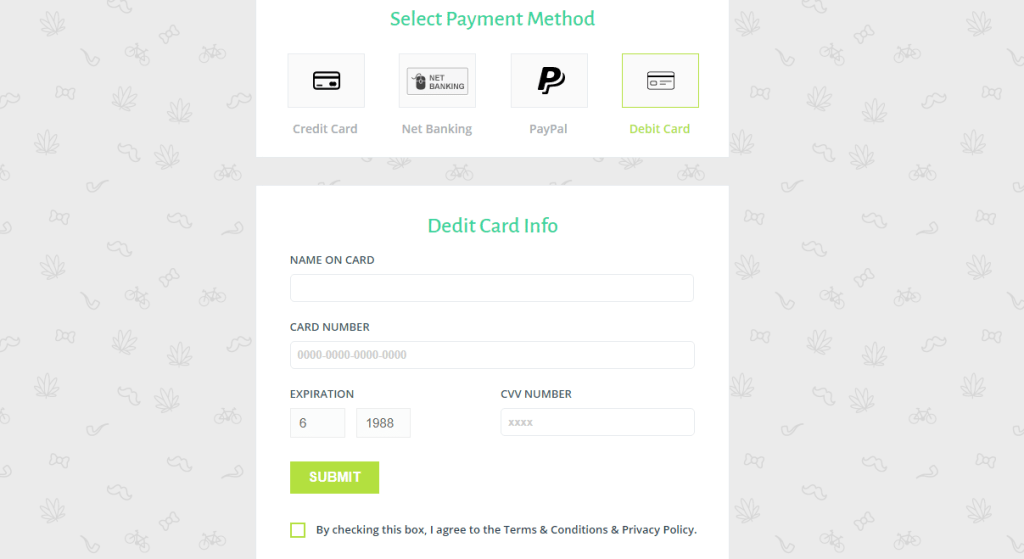 multiple online payment method