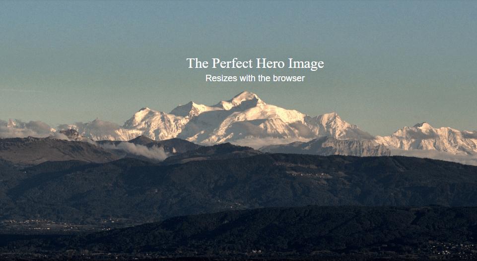 perfect hero image