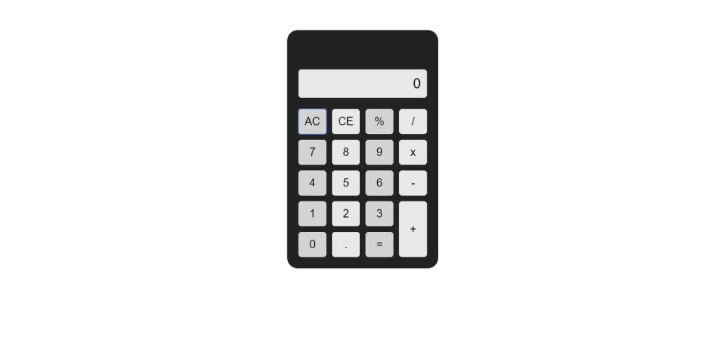 Calculator examples