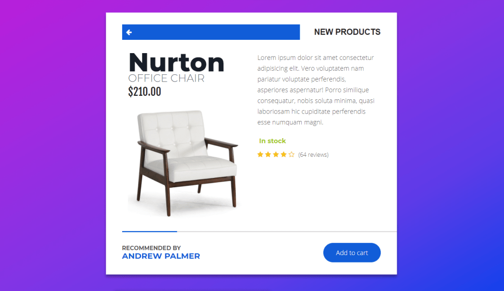popup product cards design for woocommerce
