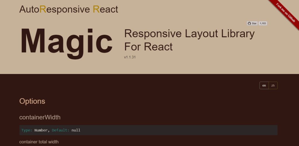 react responsive grid UI layout components