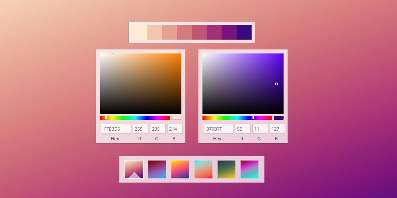 React Color Picker Component Libraries