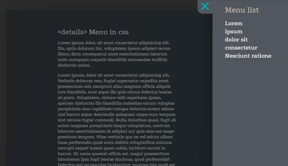 rolling dice menu