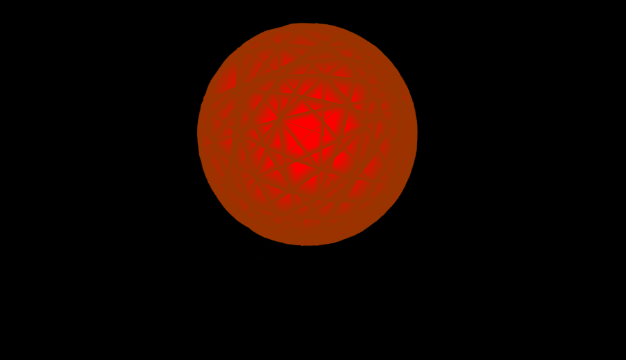 rotating fire planet