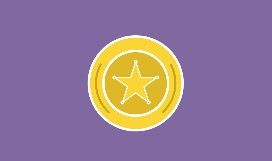 animated badge