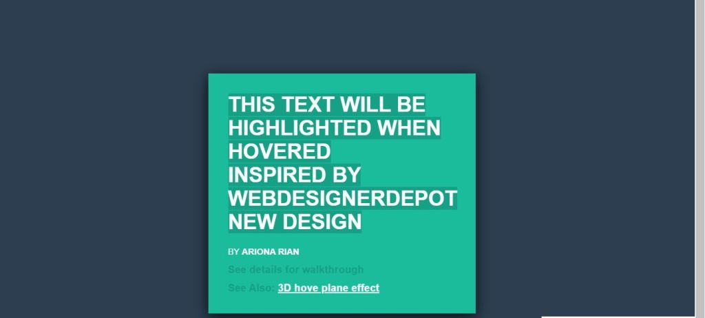 css text input background effect with font, color, and image clip