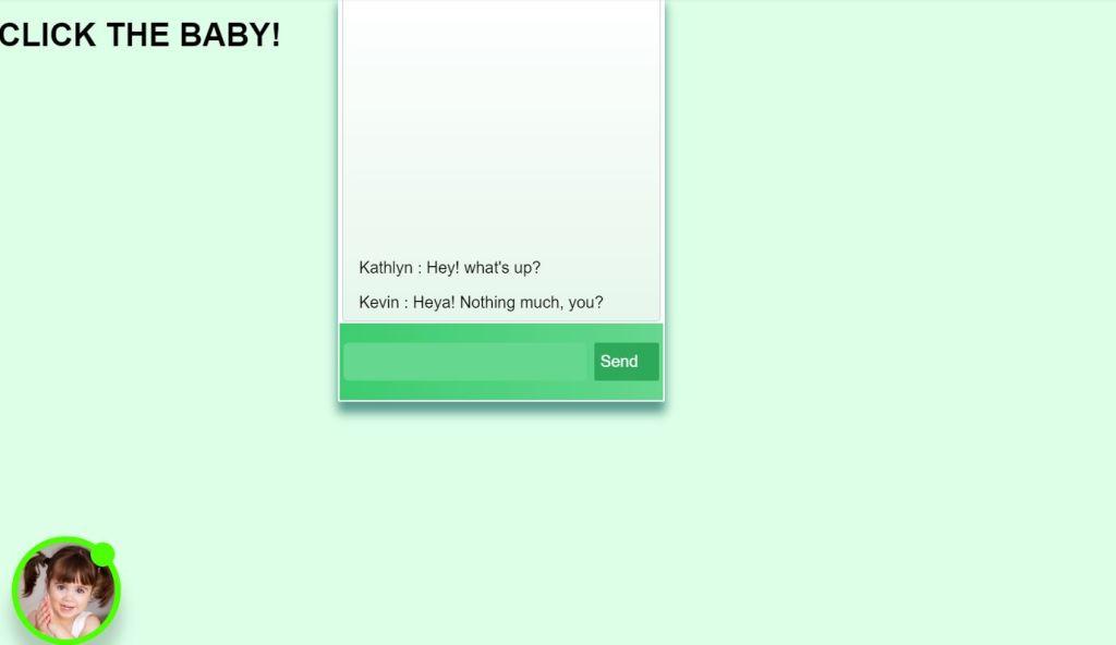 chat box CSS
