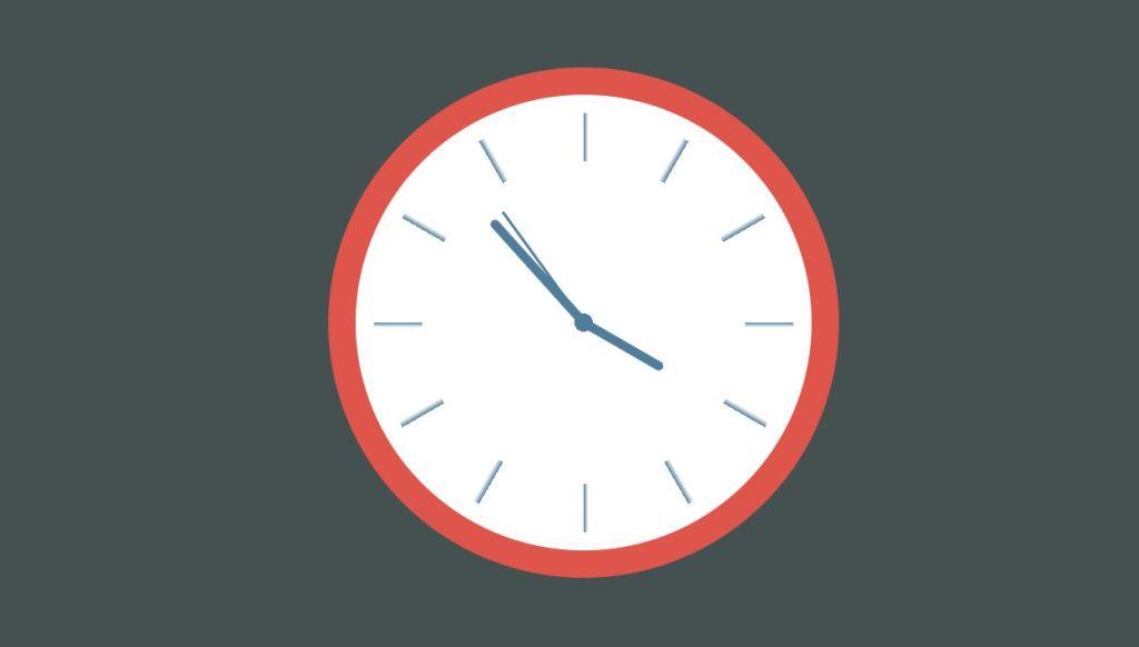 css clock design