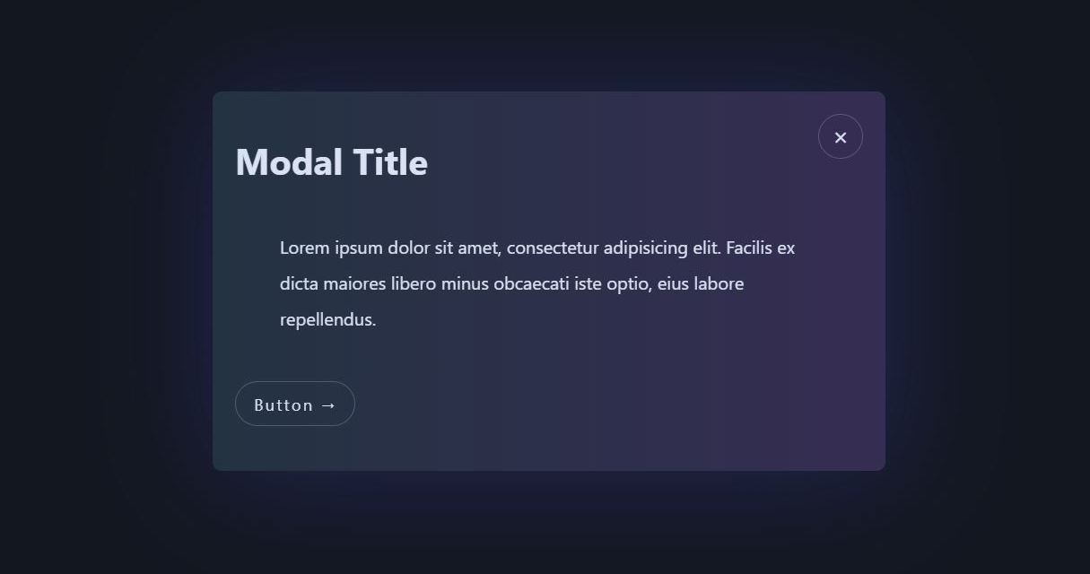 30+ Modal CSS Window Examples with Source Code