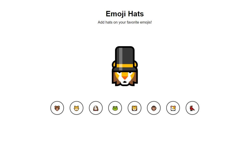 hats example