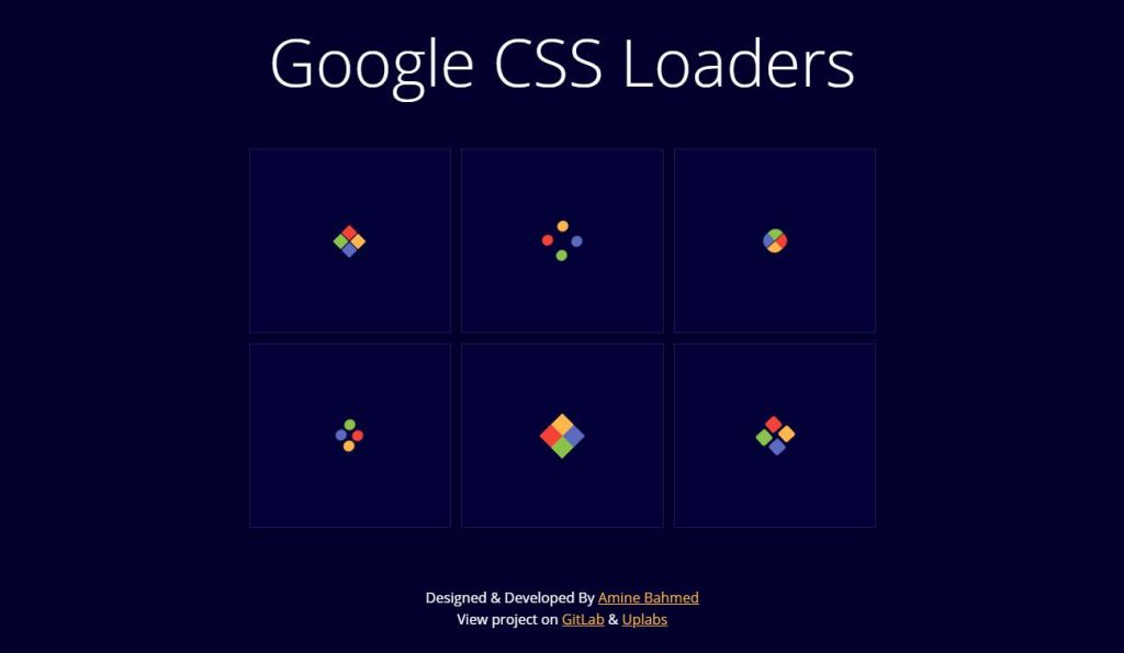 google css loaders redesign