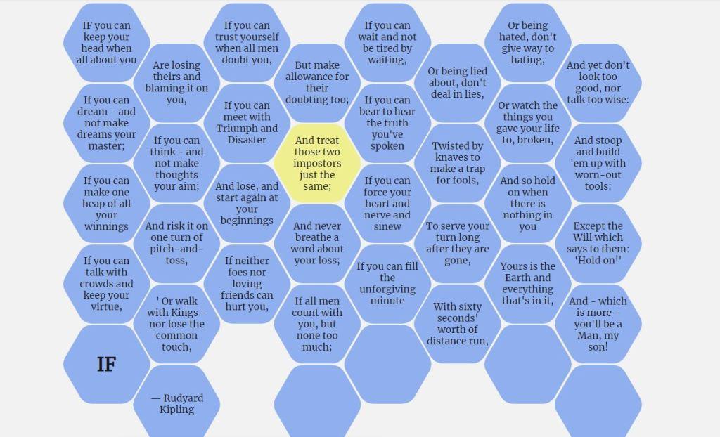 hexagonal tiles