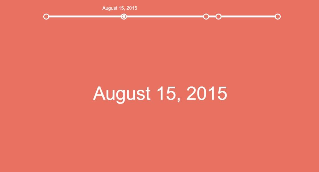 responsive horizontal timeline html css javascript bootstrap