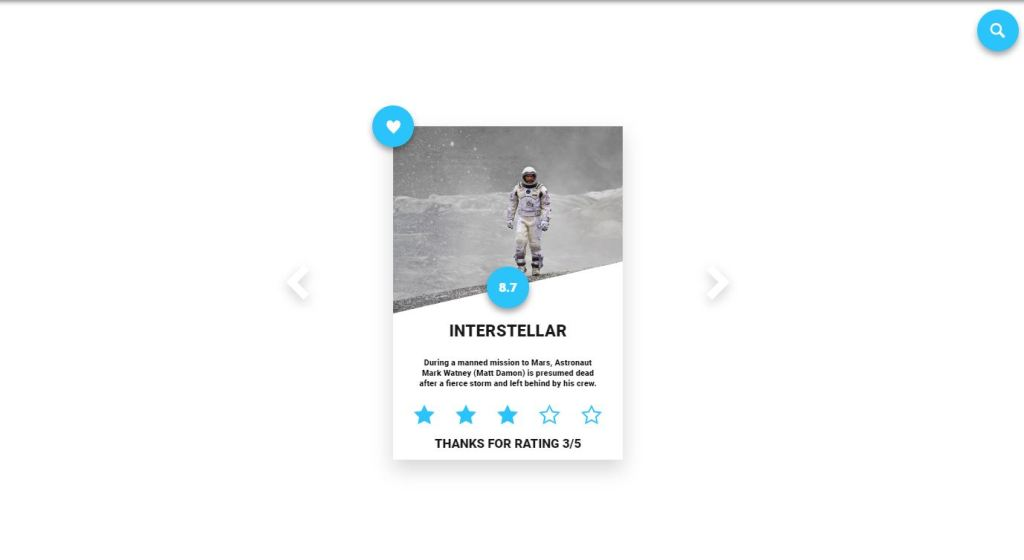 card design and effect with html, css and javascript