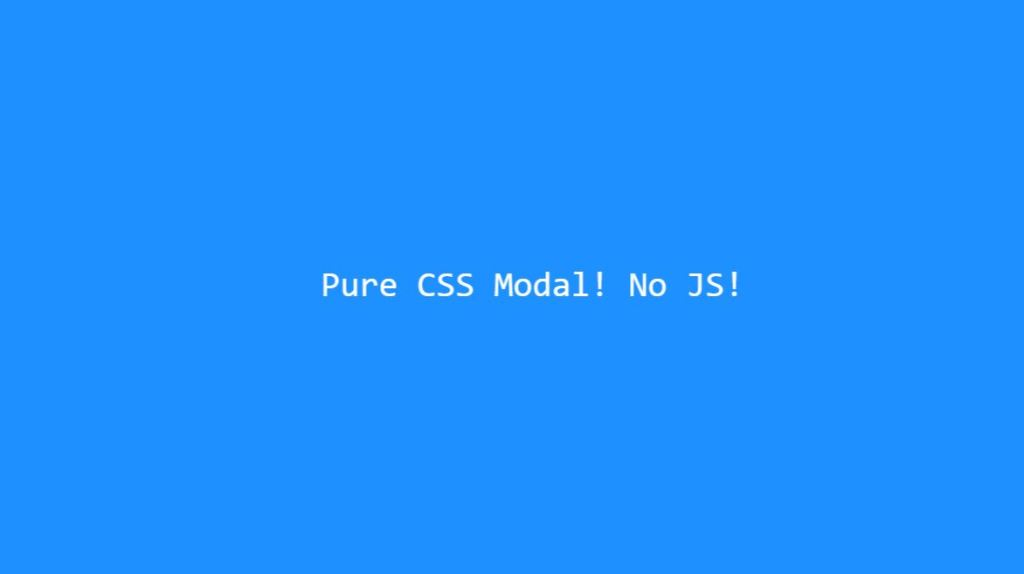modal css window dialog box example with html css bootstrap without javascript
