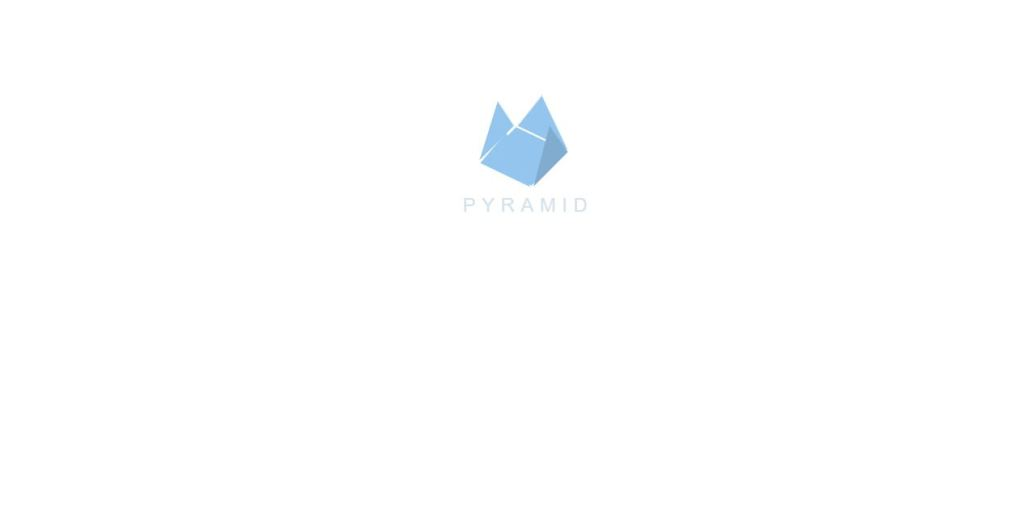 pyramid hover animation