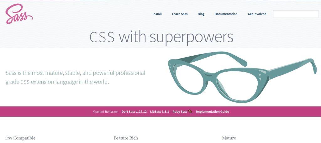 css preprocessor online Sass